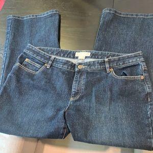 MK Sparkle Boot Cut Denim Jeans 14